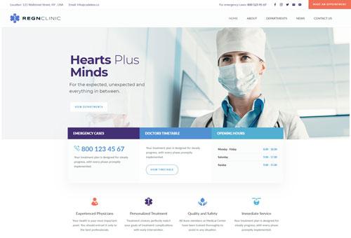 Regn Medical WordPress Theme