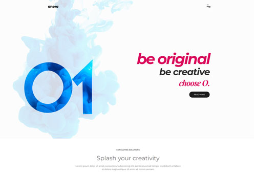 Onero – Creative Agency WordPress Theme