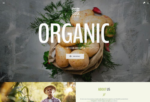 Picante Organic WordPress Theme