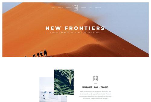 Regn Agency WordPress Theme