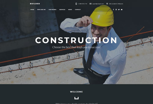 Regn Construction WordPress Theme