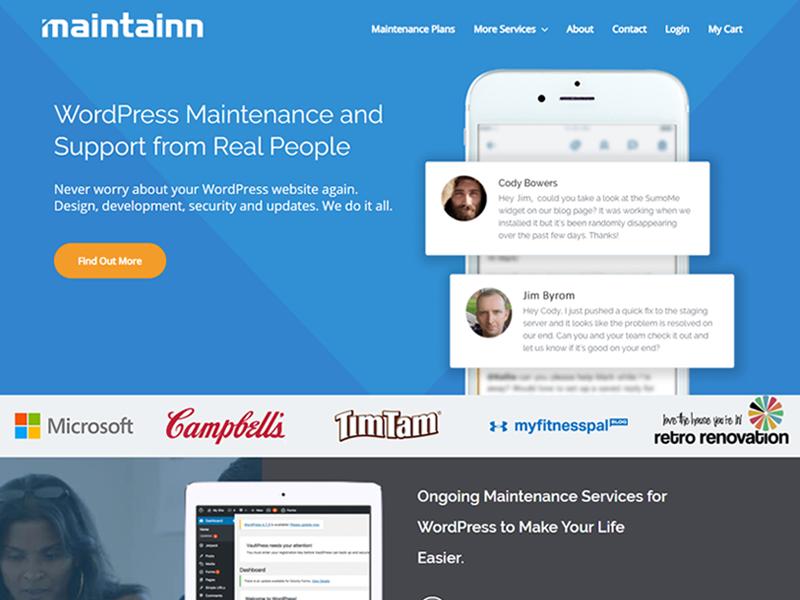 Maintainn: Website Maintenance Services