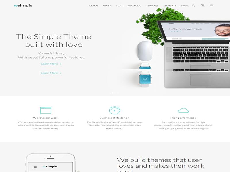 The Simple WordPress