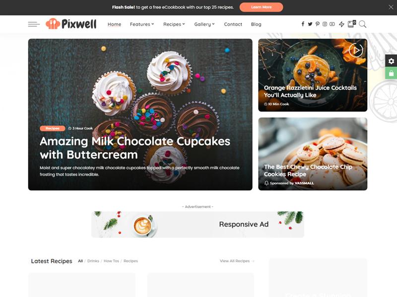 Pixwell Premium Magazine WordPress theme