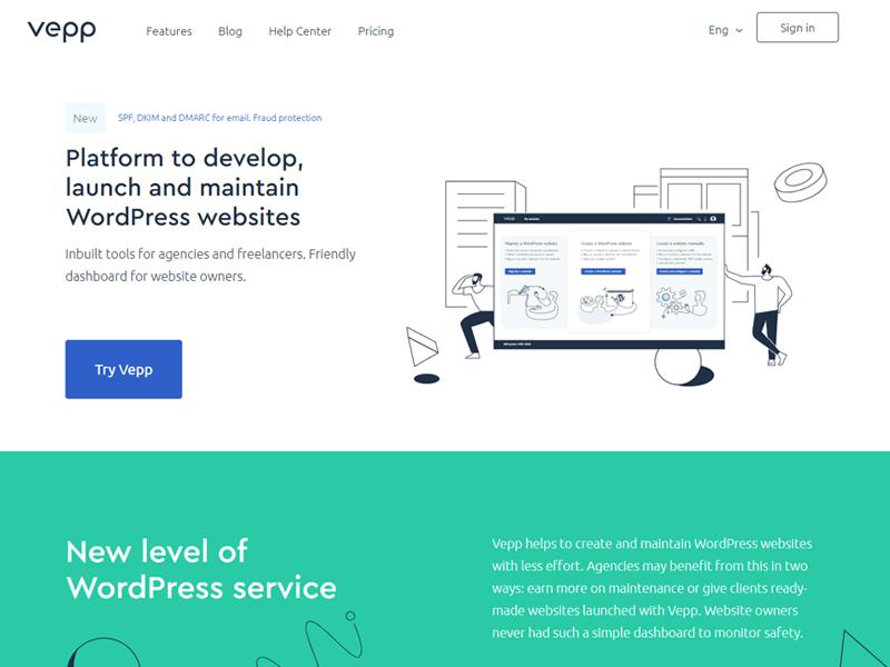 Vepp WordPress maintenance service