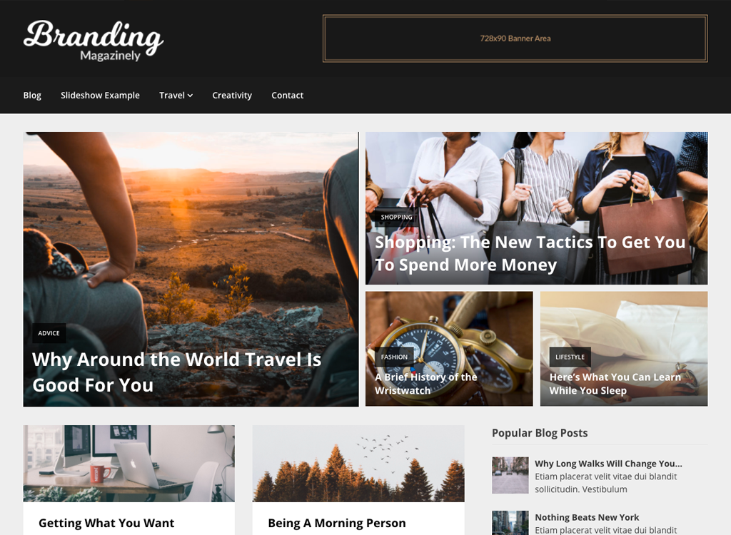 Magazinely: Best WordPress Magazine Themes