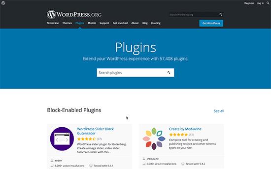 WordPress addons & plugins