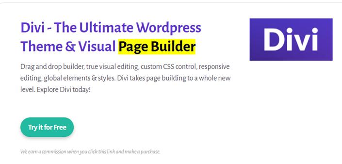 Divi page builder 2