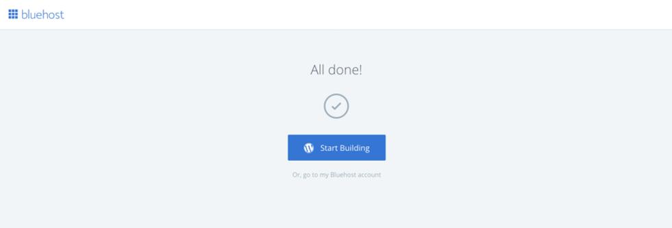 Start Fitness Blog: Install WordPress on Bluehost