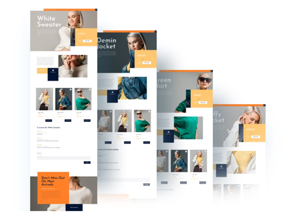UX: Divi Layouts example