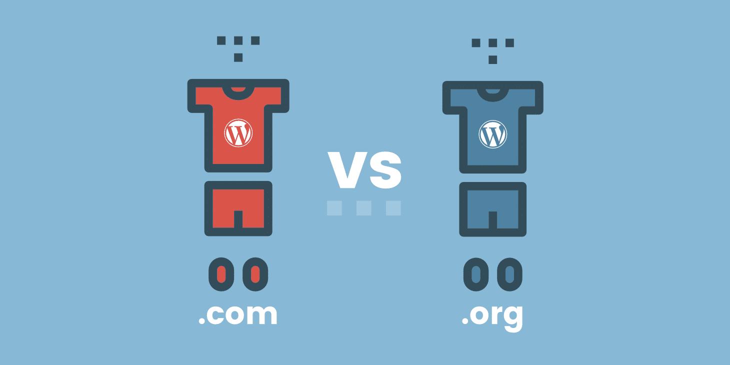 WordPress.com vs .org