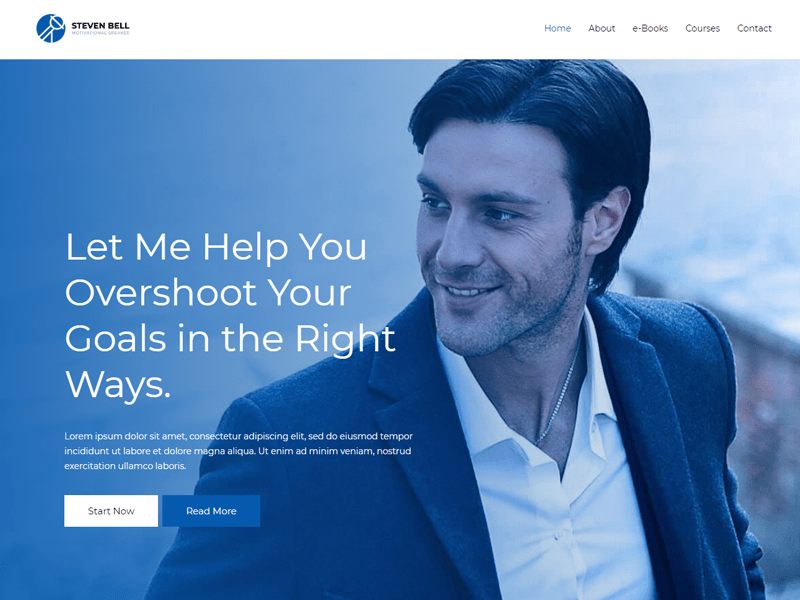 Astra Coaching WordPress Theme