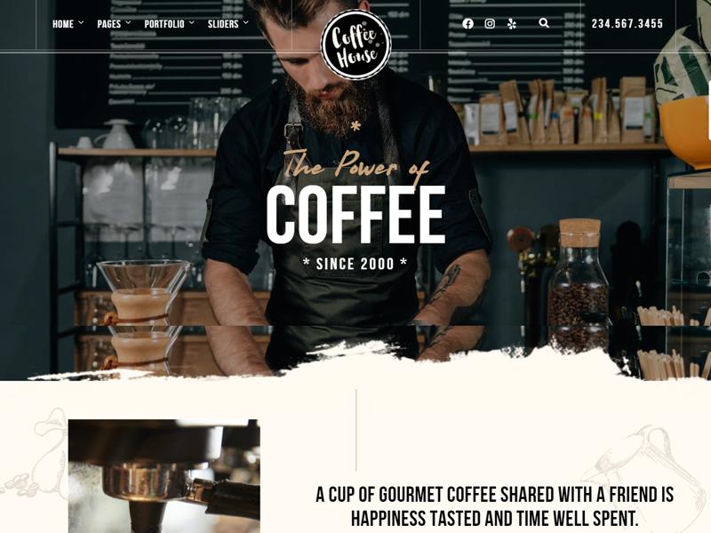 Craft: WordPress coffee themes