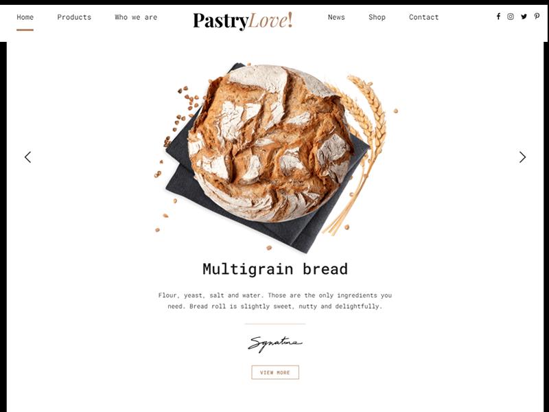 Pastry Love: Bakery Themes