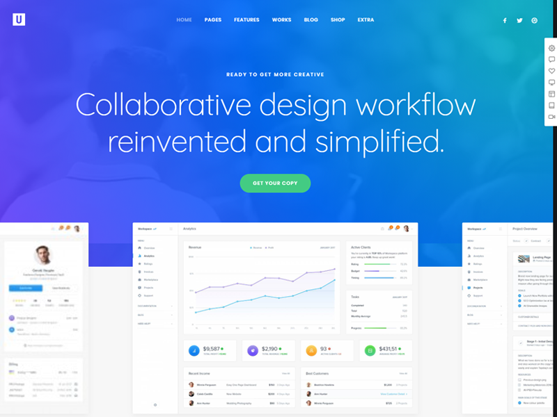 Uncode: Best SaaS WordPress Themes