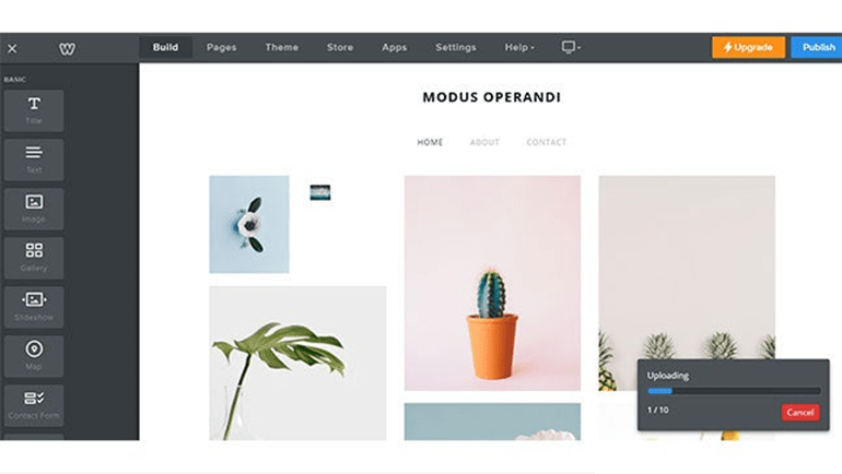 Weebly: best website builders for photographers