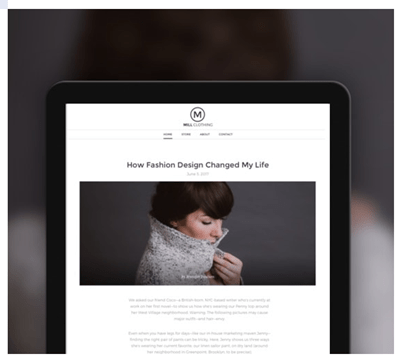 Weebly-Blogging: best website builder for photographers