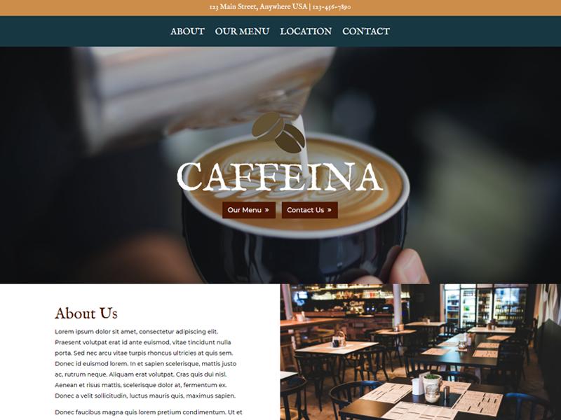 Divi: Coffee Shop WordPress Themes