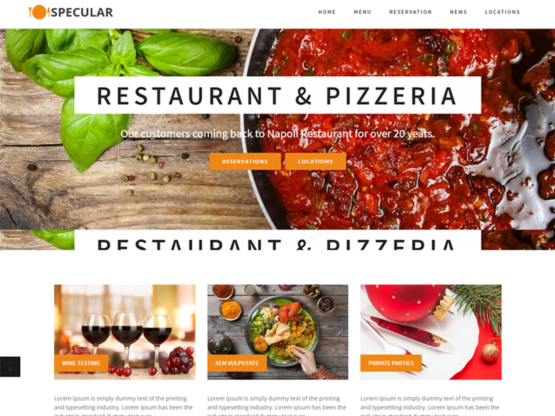 specular-restaurant-wordpress-themes