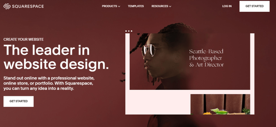 squarespace photography website builders