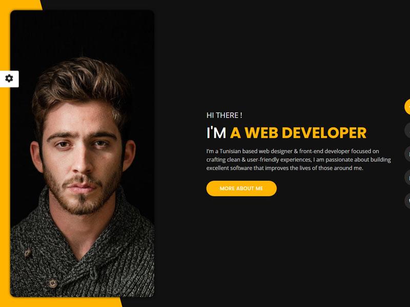 Tunis portfolio WordPress theme