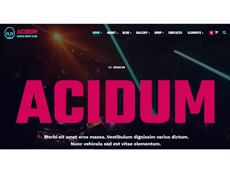 Acidum  theme
