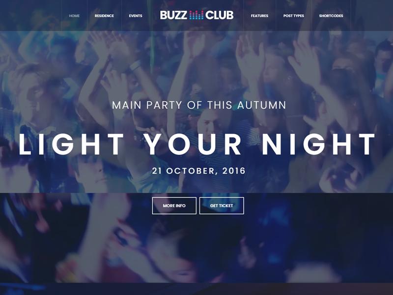 buzz club theme