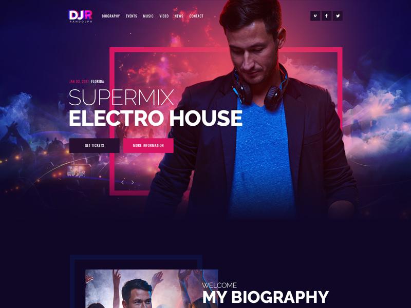 DJ Rainflow theme