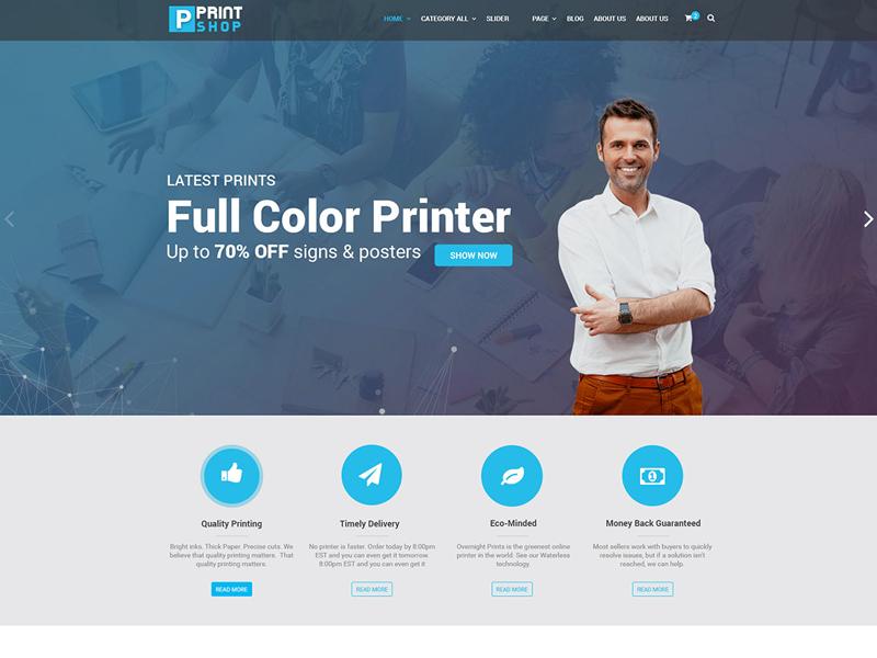 Printshop  theme